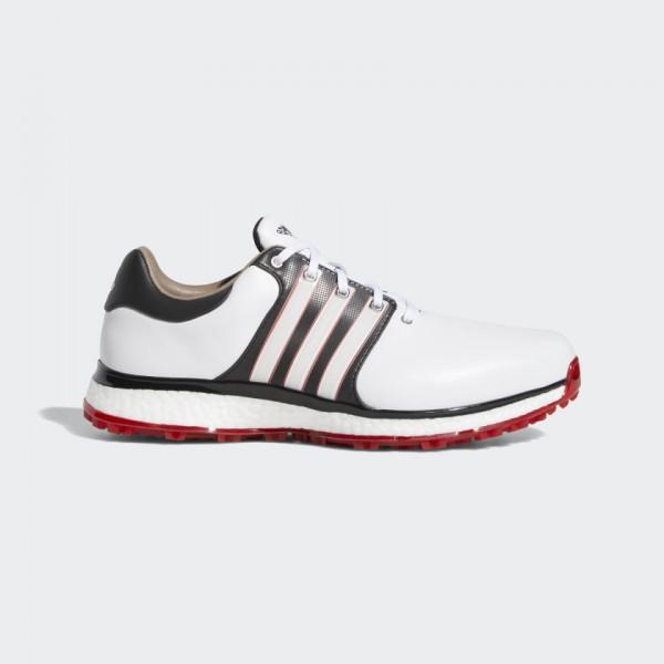 Adidas Tour360 XT-SL Schuh Herren Golfschuh Farbe: weiß rot