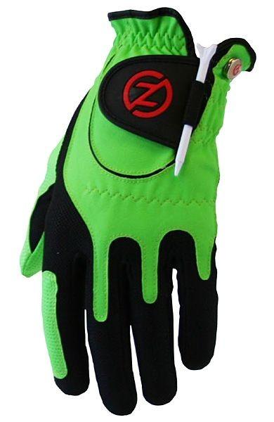 Zero Friction Synthetik Performance Handschuh Kinder - Grün - für Rechtshänder