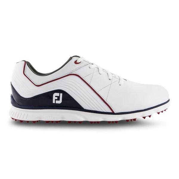 bester Verkauf echte Qualität 100% original FootJoy Pro SL Herren Golfschuhe -Weiß/Blau-