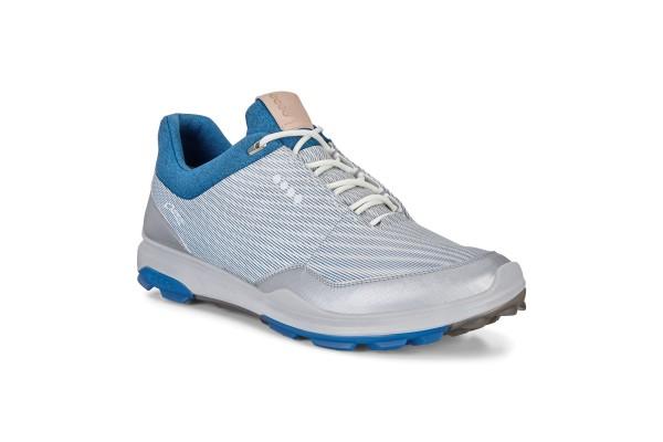 Ecco Biom Hybrid 3 Herren Golfschuh white olympian blue