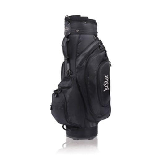 JuStar Golfbag schwarz