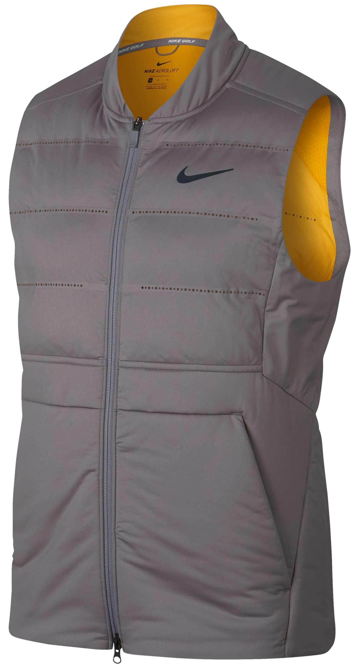 Nike Aeroloft 800 Weste Herren Schwarz