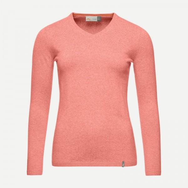cheap for discount 52aa4 e1fa0 KJUS Damen Pullover Kicki V-Neck - coral, Neu!