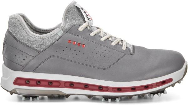 Ecco COOL PRO Herren Golfschuh Farbe: grau weiß rot